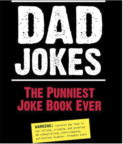 Dad Jokes Book for Father's Day