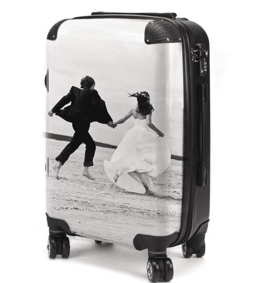 Customizable Luggage is the Most Useful Wedding Gift