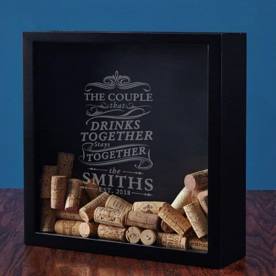 A Shadow Box to Start a Collection on Your Parents Anniversary