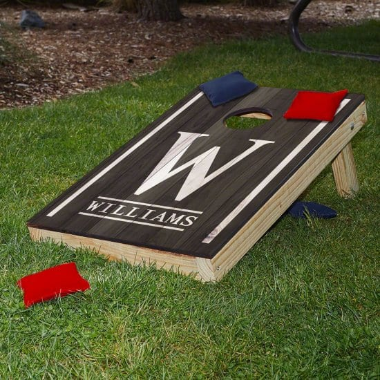 Personalized Cornhole Gift Set Outdoorsy Guys Love