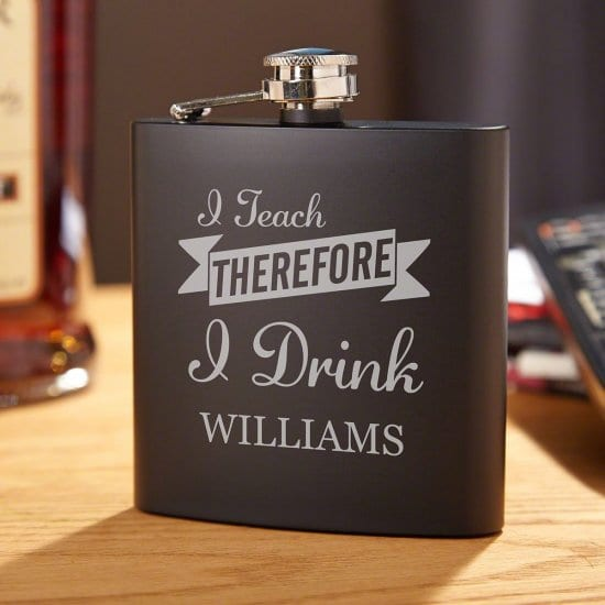 Stainless Steel Flask Gift for College Students Majoring in Education