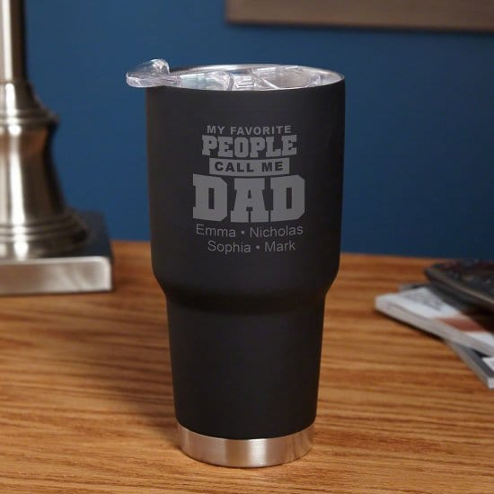 Engraved Coffee Tumbler