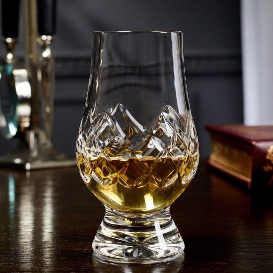 Crystal Cut Glencairn Glass Gift for Guys That Love Scotch