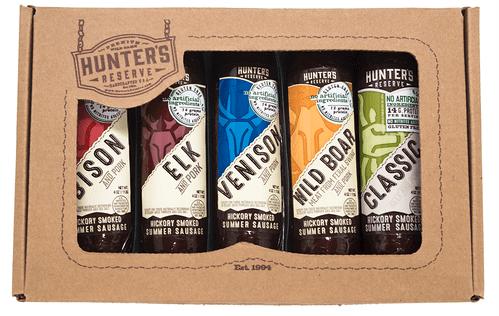 Hunter's Reserve Set of Exotic Sausages