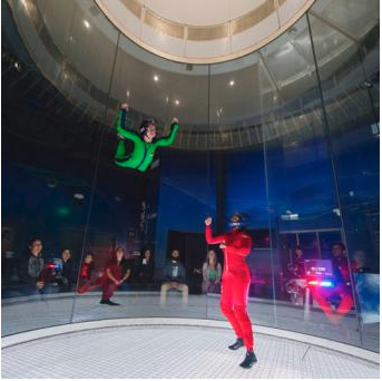 Cloud9Living Indoor Skydiving Lesson