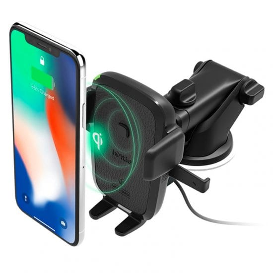 Wireless Charging Dash Mount for His Phone