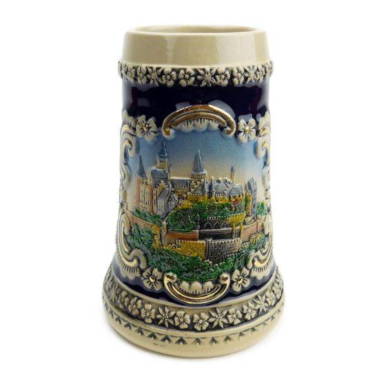 Vintage Decorated Traditional Beer Mug