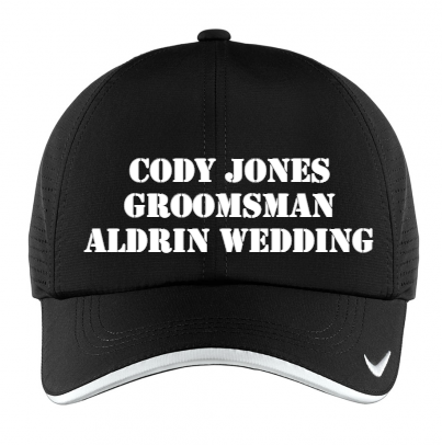 Custom Nike Hat from All Star Logo