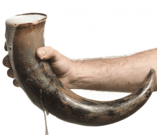 Traditional Viking Drinking Horn