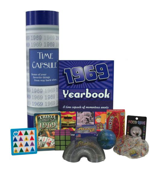 1969 Time Capsule 50th Birthday Gift Idea