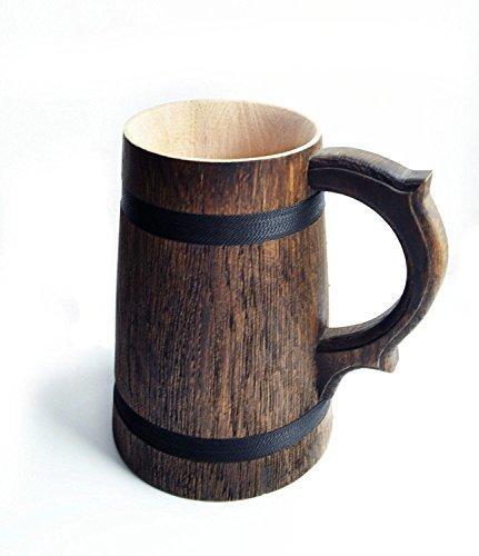 Genuine Wooden Beer Mug