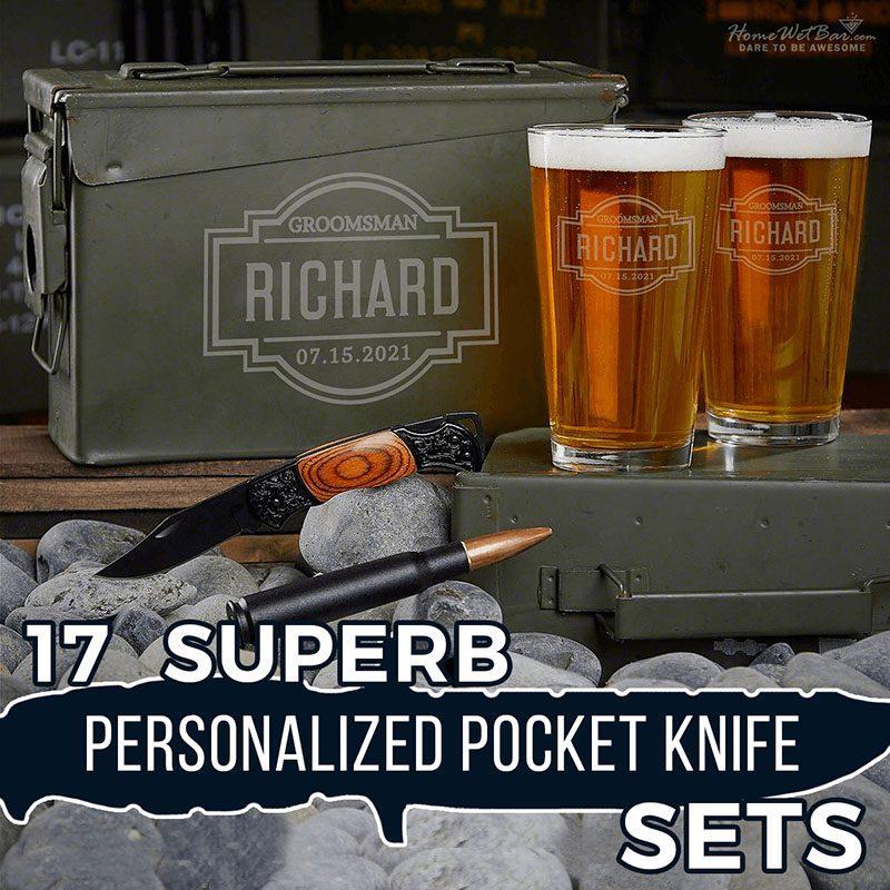 17 Superb Personalized Pocket Knife Sets