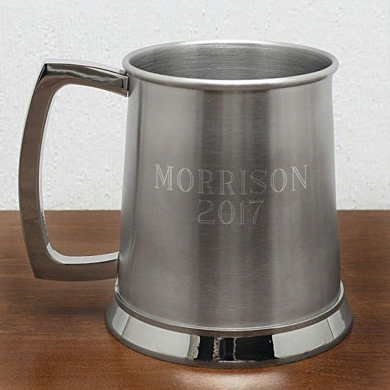 Engraved Pewter Mug