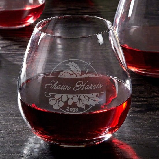 Custom Red Wine Glass