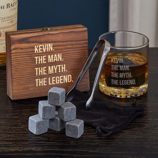 Legendary Personalized Whiskey Gift Set