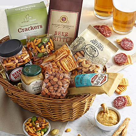 Beer Snack Basket