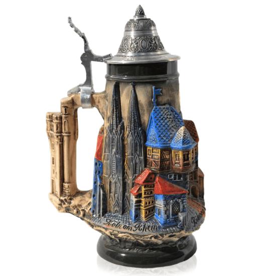 3D Castle Beer Stein