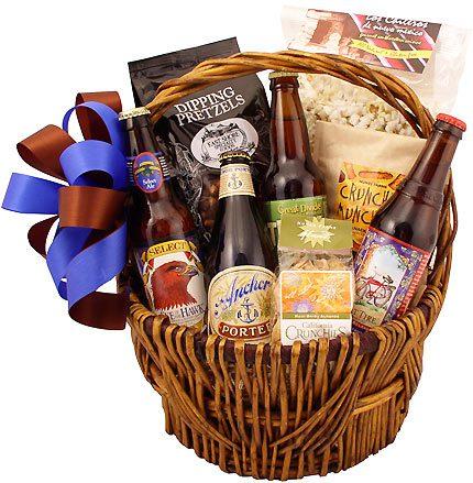 Microbrew Gift Basket