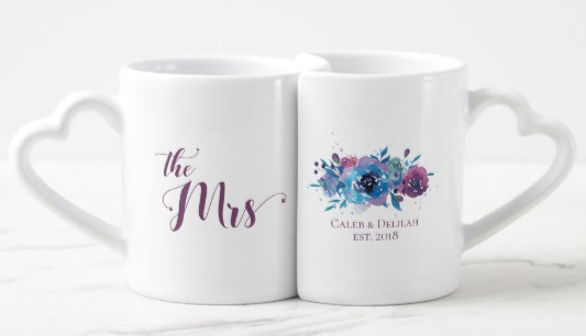 Custom Nesting Couple Mugs