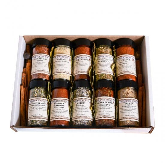 Set of BBQ Spices for Grilling