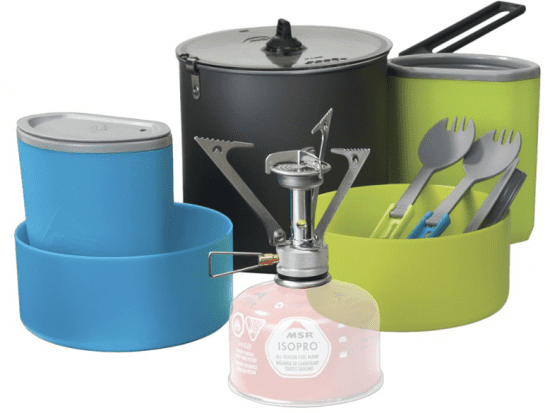 Outdoor Cooking Pot Set with Stove