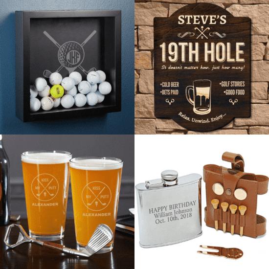 DIY Golf Lover Gift Set for Dad