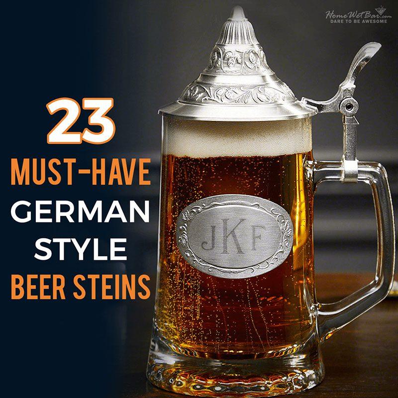 23 Must-Have German Style Beer Steins