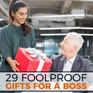 29 Foolproof Gifts for A Boss