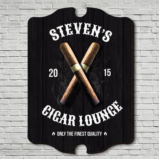 Fine Cigar Bar Sign