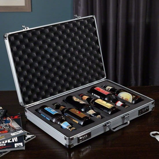 Briefcase Beer Carrier
