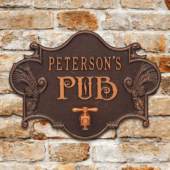 Custom Beer Opener Bar Sign