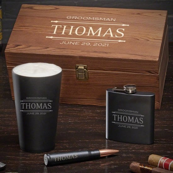 Personalized Gift Set for Old Men