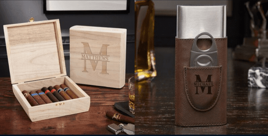 Cigar Box and Cigar Case