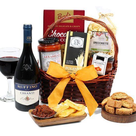 Gourmet Anniversary Gift Basket