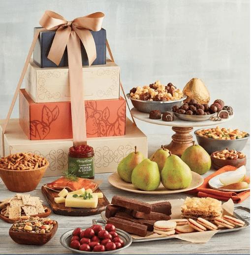 Sweet and Savory Food Gift Basket