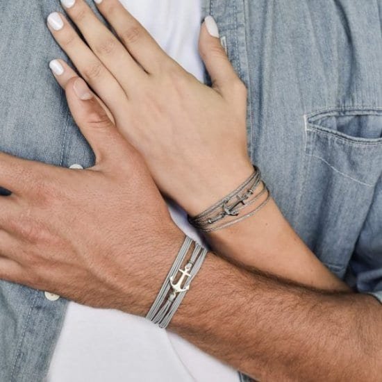 His and Hers Bracelets First Anniversary Gift