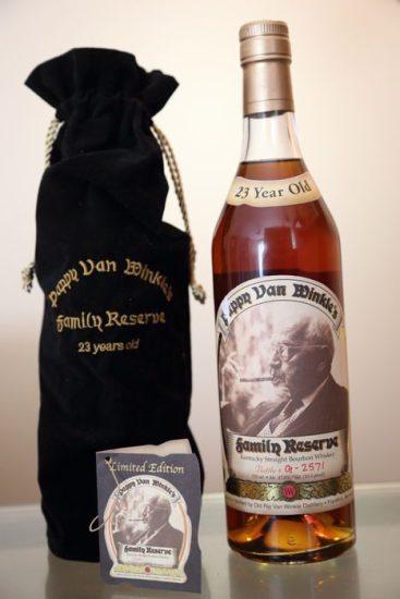 23 Year Pappy Van Winkle Kentucky Bourbon
