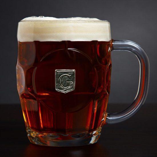 Engraved Crested British Beer Mug