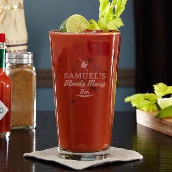 Bloody Mary Vodka Glass