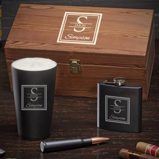 Personalized Stainless Steel Gift Set