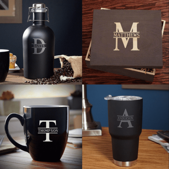 Cool Coffee Set for the Man Who Has Everything