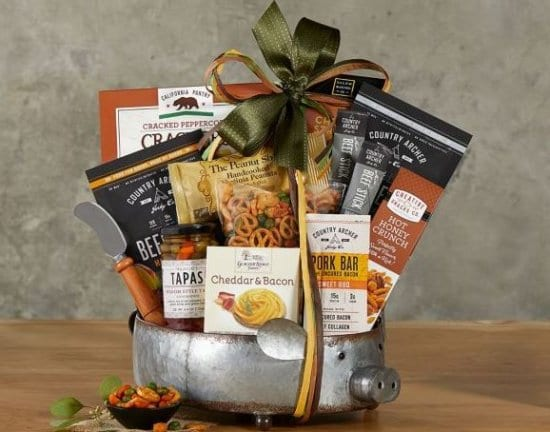Gourmet Snacks Gift Basket