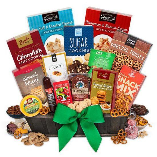 Gourmet Edible Gift Basket
