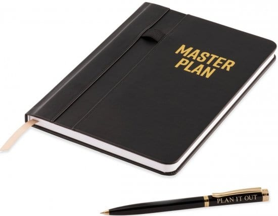 Notebook and Ballpoint Pen Gift Ideas for Employees