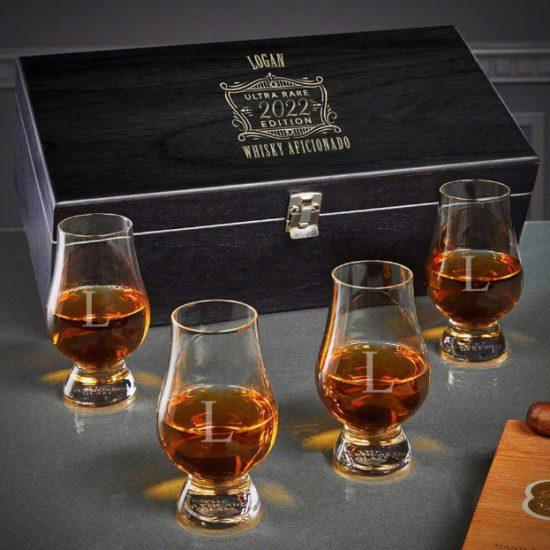 Custom Ultimate Whiskey Gift Set Christmas Gift for Dad