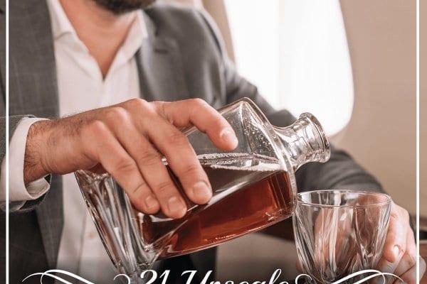 21 Upscale Whiskey Gift Sets
