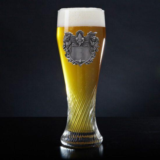 Swirling Pilsner Craft Beer Glass