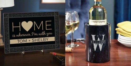 Decor Sign and Wine Chiller