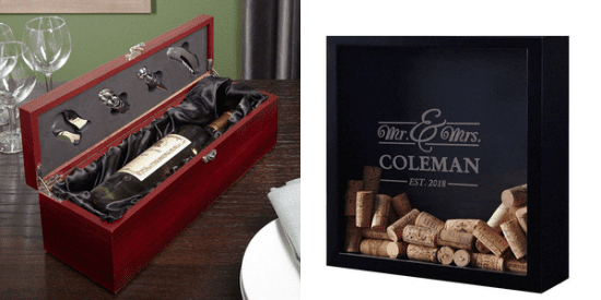 Wine Gift Box and Shadow Box
