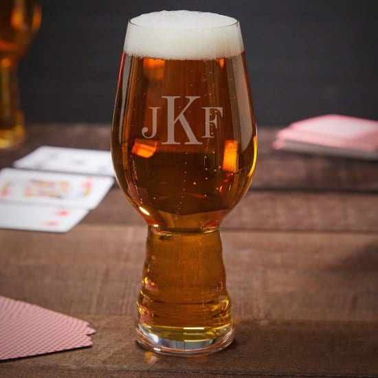 Engraved IPA Glass
